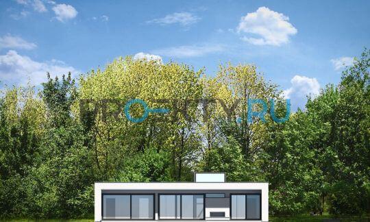 Фасады проекта Вилла Атриум
