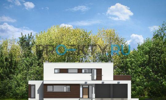 Фасады проекта Вилла Азур