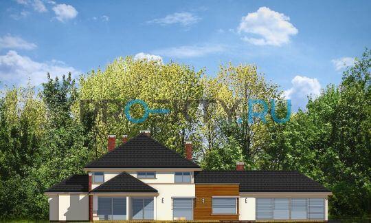 Фасады проекта Вилла с бассейном
