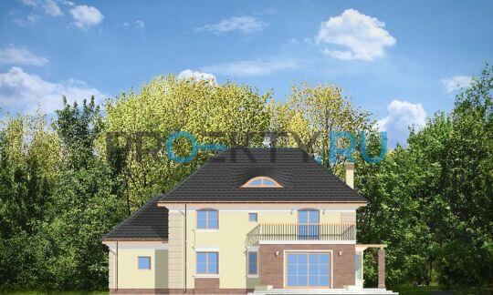 Фасады проекта Вилловый