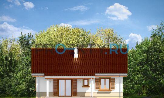 Фасады проекта Жабка