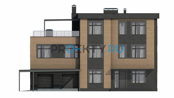 Фасады проекта Сезанн