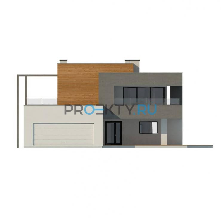 Фасады проекта Zx108