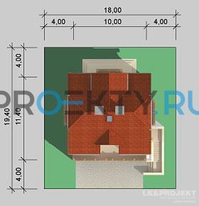 Ситуационный план проекта LK&554