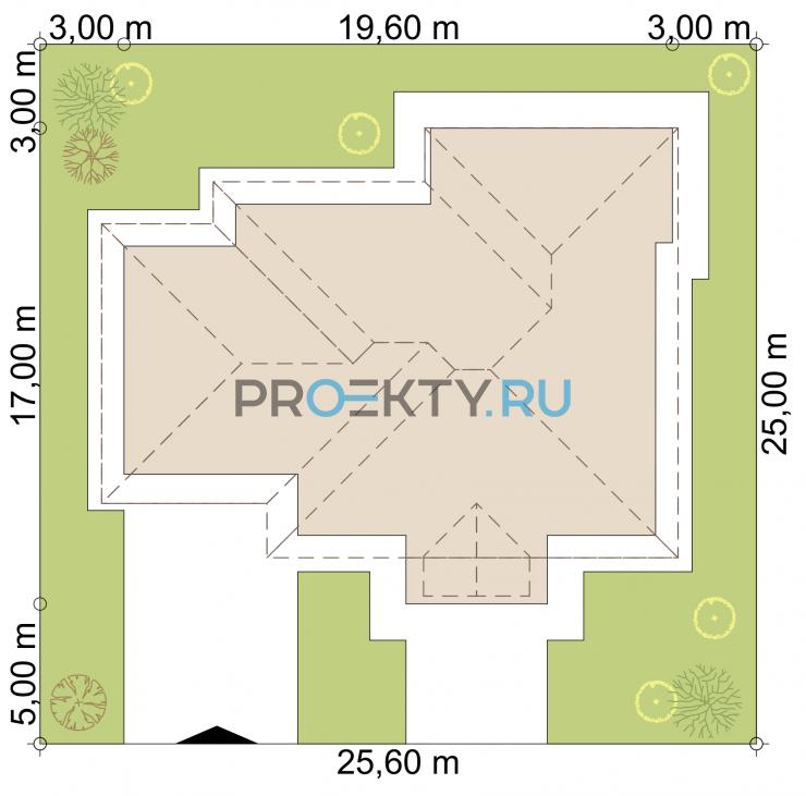 Ситуационный план проекта Верона-2