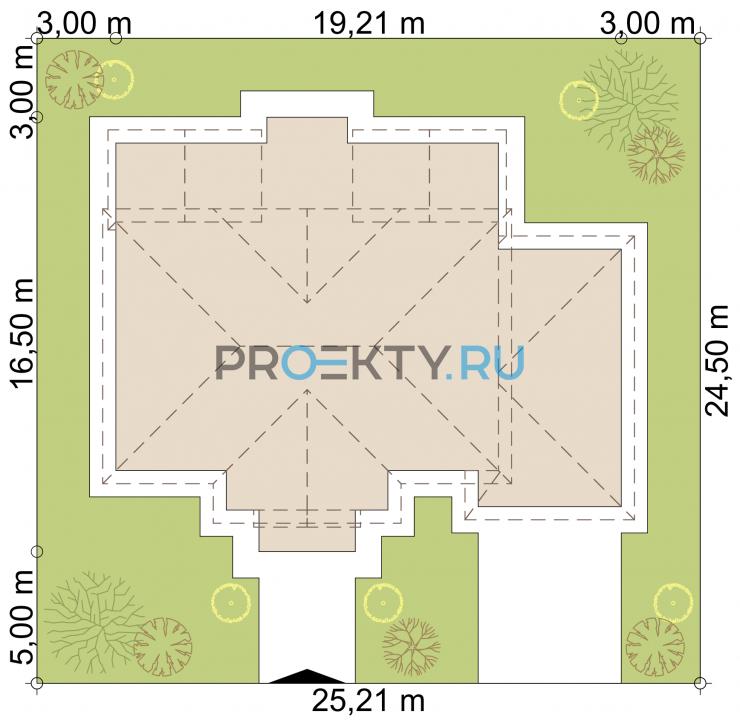 Ситуационный план проекта Престон