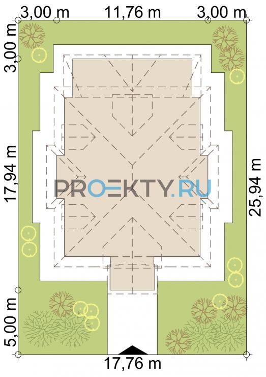 Ситуационный план проекта Дарли - 1