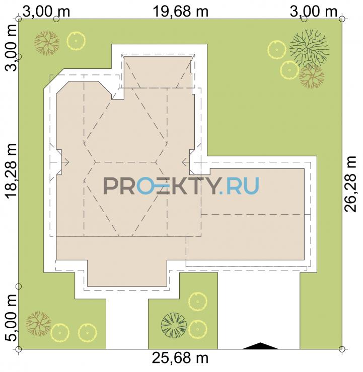 Ситуационный план проекта Лимбург