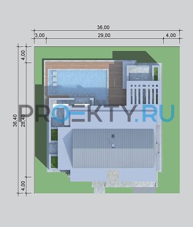 Ситуационный план проекта LK&900