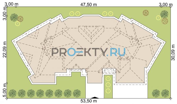 Ситуационный план проекта Ривуар