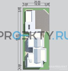 Ситуационный план проекта LK&990