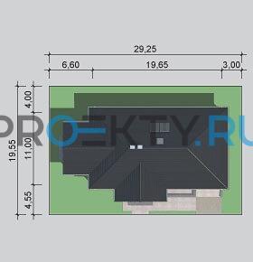 Ситуационный план проекта LK&989