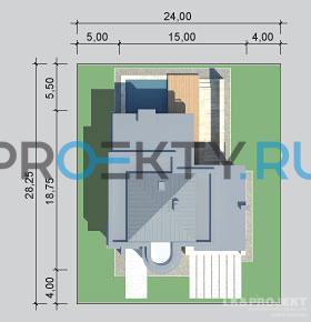 Ситуационный план проекта LK&875