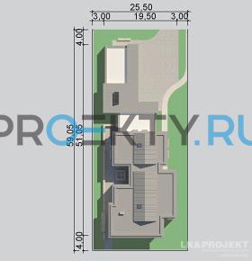 Ситуационный план проекта LK&1078