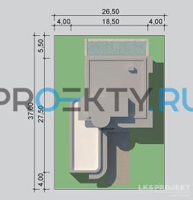 Ситуационный план проекта LK&1075