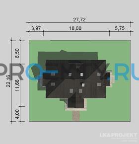 Ситуационный план проекта LK&866
