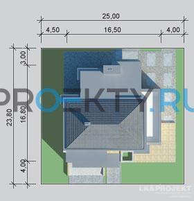 Ситуационный план проекта LK&914
