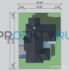 Ситуационный план проекта LK&1127