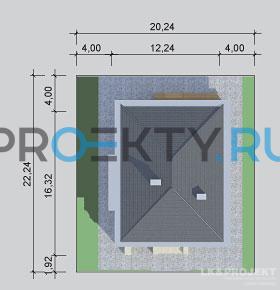 Ситуационный план проекта LK&896