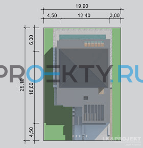 Ситуационный план проекта LK&1136