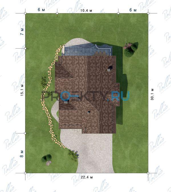 Ситуационный план проекта Х17