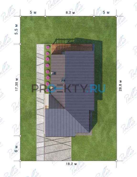 Ситуационный план проекта Х13