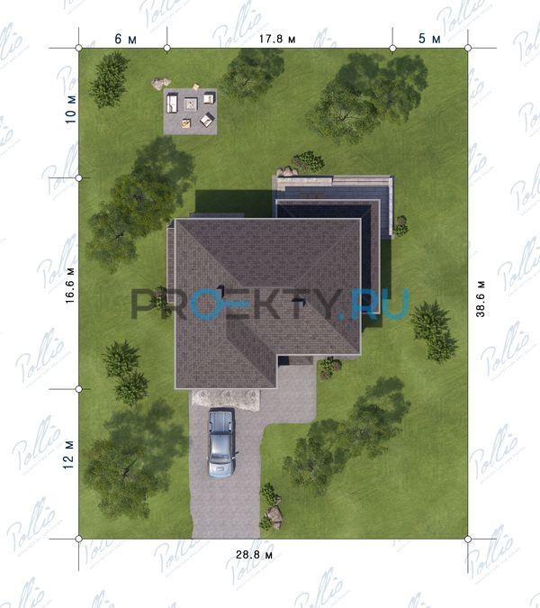 Ситуационный план проекта Х21