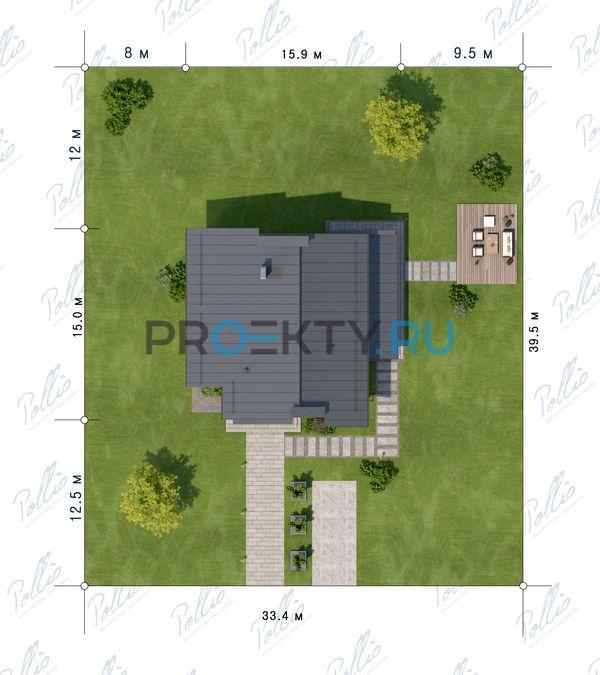 Ситуационный план проекта Х22
