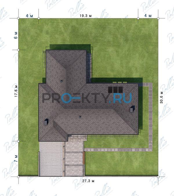 Ситуационный план проекта Х16