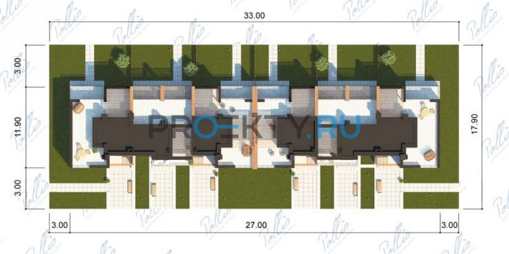 Ситуационный план проекта Xb2