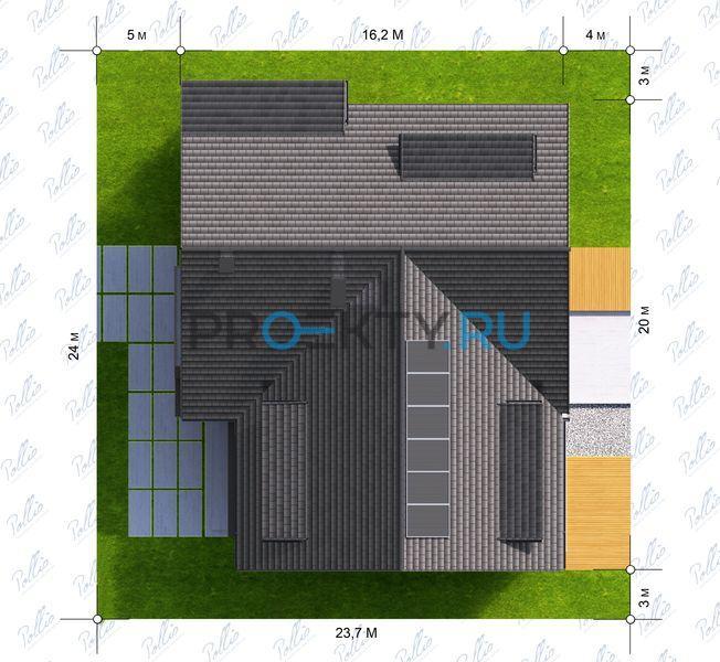 Ситуационный план проекта Х14