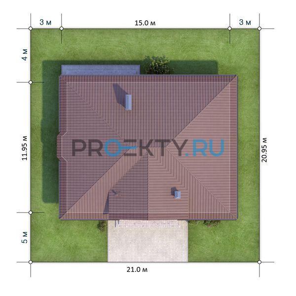 Ситуационный план проекта X1