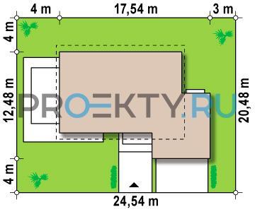 Ситуационный план проекта Z142