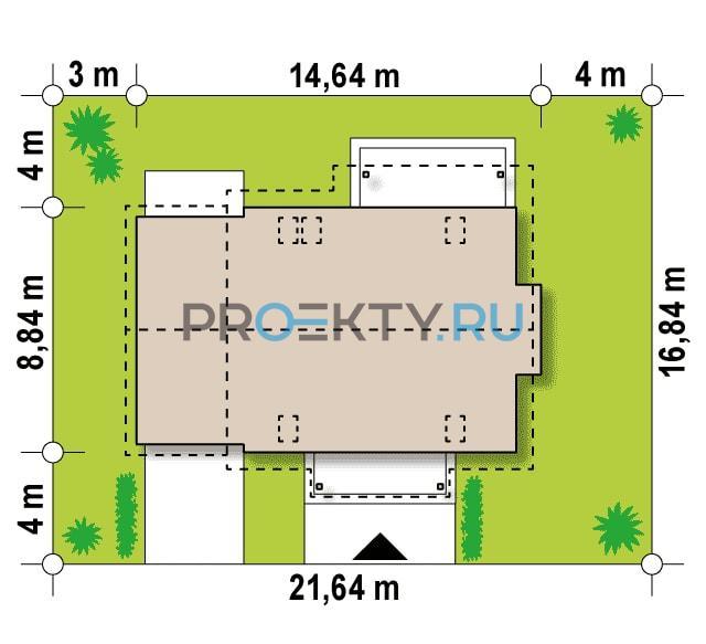 Ситуационный план проекта Z162 GLv2