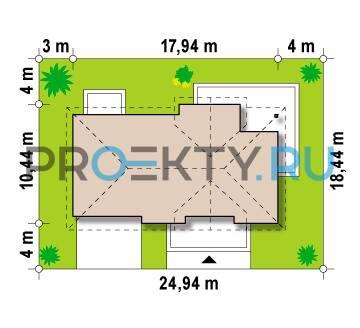 Ситуационный план проекта Z171