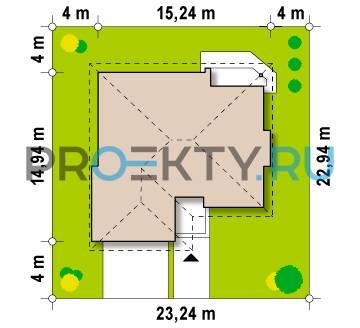 Ситуационный план проекта Z205