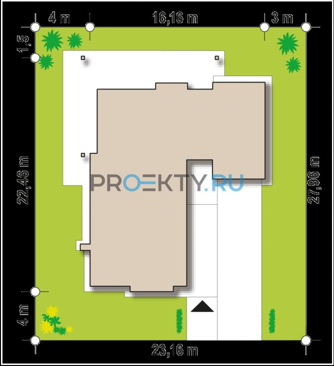 Ситуационный план проекта Z279