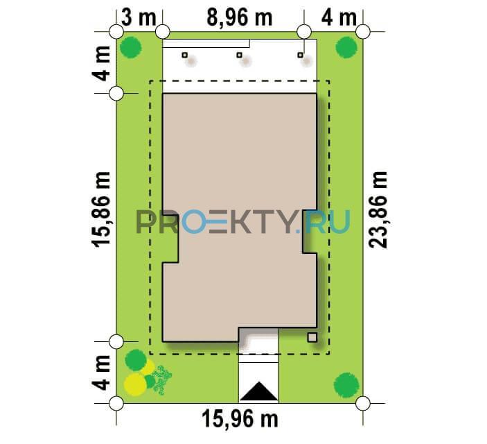 Ситуационный план проекта Z328