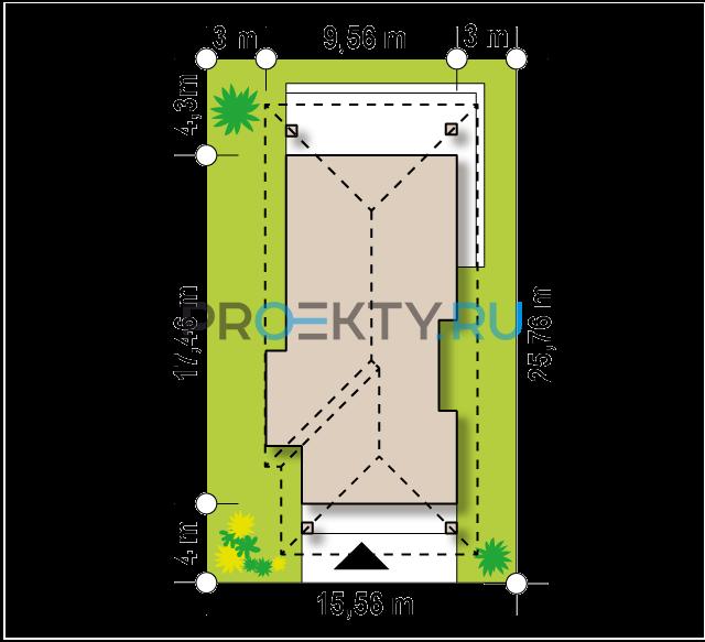 Ситуационный план проекта Z363