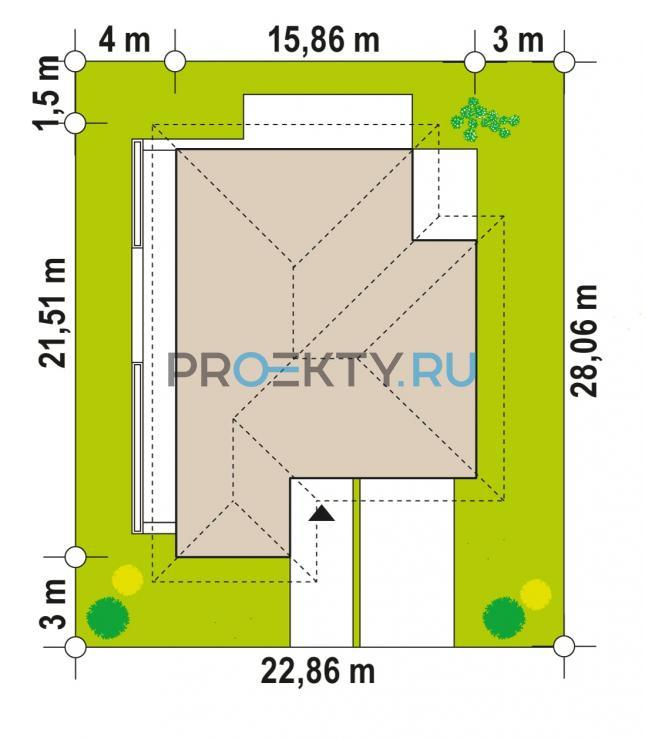 Ситуационный план проекта Z400