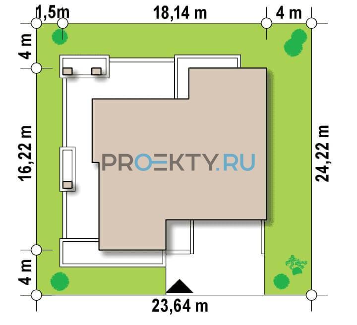 Ситуационный план проекта Zx132