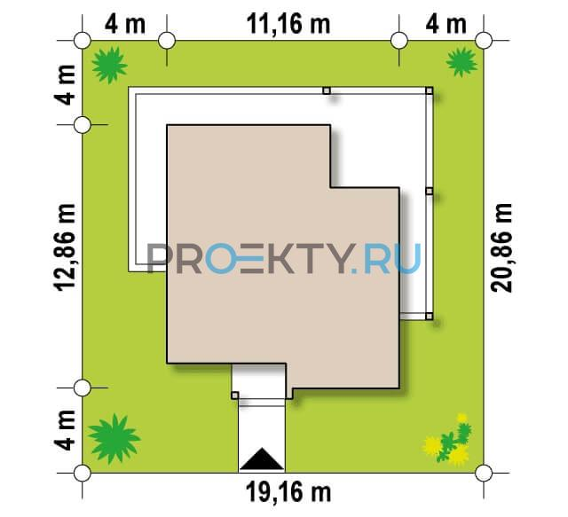 Ситуационный план проекта Zx138