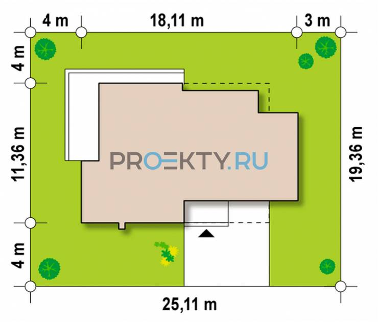 Ситуационный план проекта Zx39 GP2