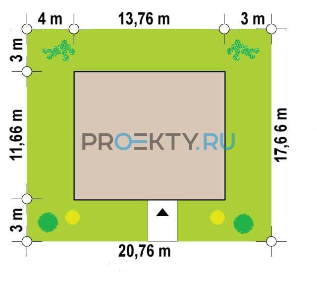 Ситуационный план проекта Zx82