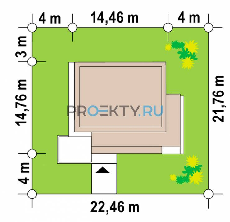 Ситуационный план проекта Zx85