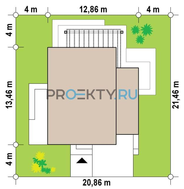 Ситуационный план проекта Zx91