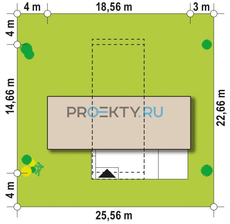 Ситуационный план проекта Zx97