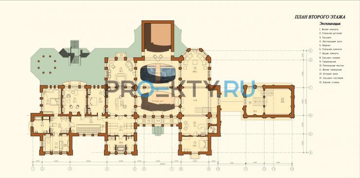 План проекта Усадьба Модерн - 2