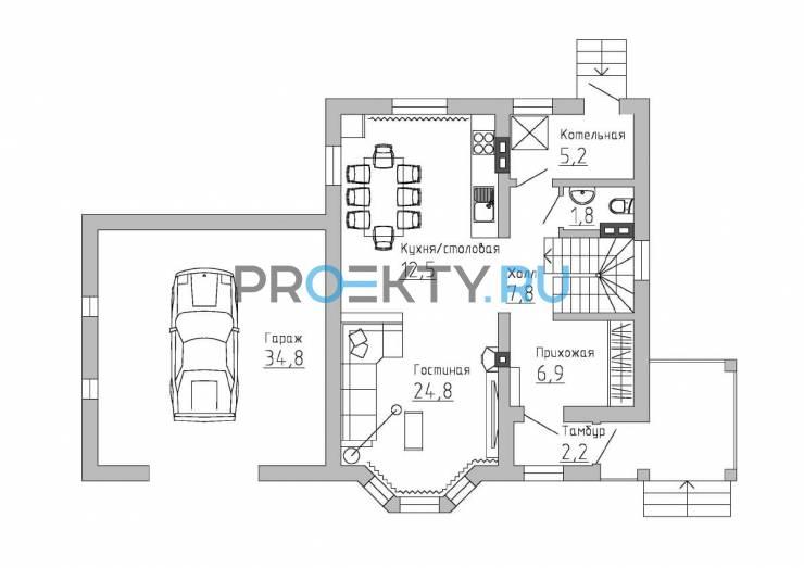 План проекта Баварский дом - 1