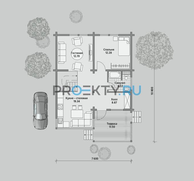 План проекта Б 105 - 1